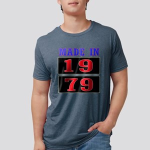Made In 1979 Mens Tri-blend T-Shirt