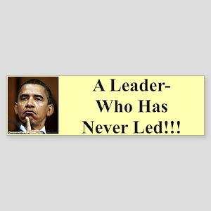 """""""Leader?"""" Bumper Sticker"""