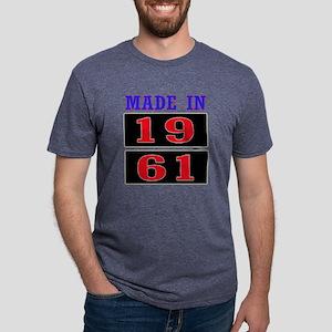 Made In 1961 Mens Tri-blend T-Shirt