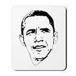 Obama Line Portrait Mousepad