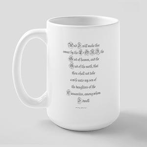 GENESIS  24:3 Large Mug