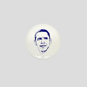 Obama Line Portrait Mini Button