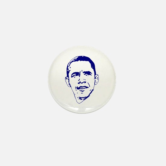 Obama Line Portrait Mini Button
