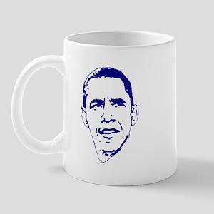 Obama Line Portrait Mug