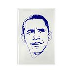 Obama Line Portrait Rectangle Magnet (100 pack)