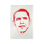 Obama Line Portrait Rectangle Magnet (10 pack)