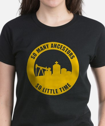 So Many Ancestors Women's Dark T-Shirt