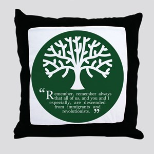 Immigrations & Revolutionists Throw Pillow