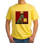 T-Rex Graduation Speaker Yellow T-Shirt