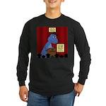 T-Rex Graduation Speaker Long Sleeve Dark T-Shirt