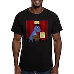 T-Rex Graduation Speak Men's Fitted T-Shirt (dark)