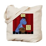 T-Rex Graduation Speaker Tote Bag