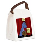 T-Rex Graduation Speaker Canvas Lunch Bag