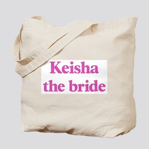 Keisha the bride Tote Bag