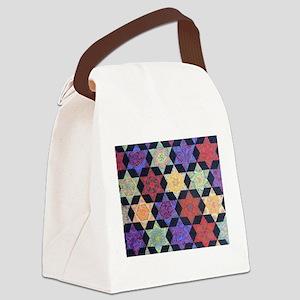 JEWISH STAR OF DAVID Canvas Lunch Bag