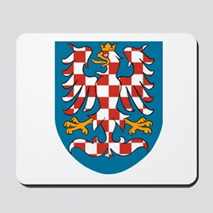 Moravia Coat of Arms Mousepad