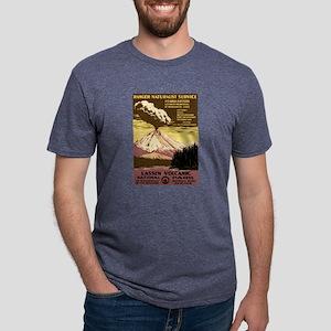 1930s Vintage Lassen Volcanic National Park T-Shir