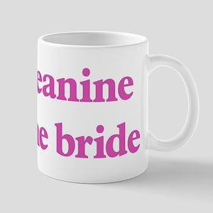 Jeanine the bride Mug
