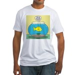Fishbowl Circles Fitted T-Shirt