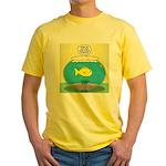 Fishbowl Circles Yellow T-Shirt