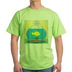 Fishbowl Circles Green T-Shirt
