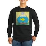 Fishbowl Circles Long Sleeve Dark T-Shirt
