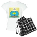 Fishbowl Circles Women's Light Pajamas