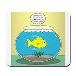 Fishbowl Circles Mousepad