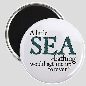 Jane Austen Sea Bathing Magnet