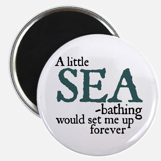 Jane Austen Sea Bathing Magnet