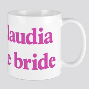Claudia the bride Mug