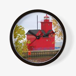 Big Red, Holland MI Wall Clock