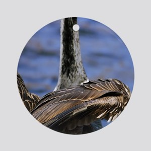 Geese Ornament (Round)