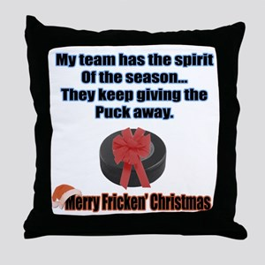 Spirit Of The Season Throw Pillow