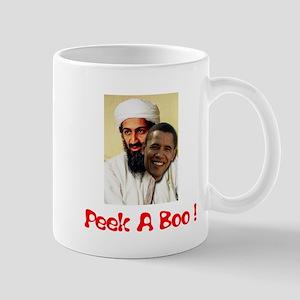 Peek A Boo Obama Mug