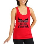 Cat Kneads You Racerback Tank Top