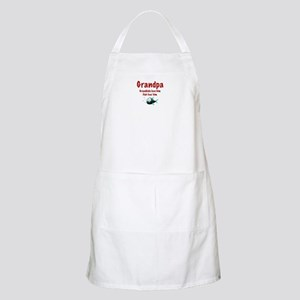 Grandpa - Fish fear him BBQ Apron