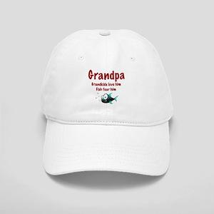 Grandpa - Fish fear him Cap