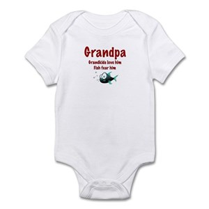 Grandpa Baby Clothes Accessories Cafepress
