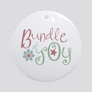 Bundle of Joy Round Ornament