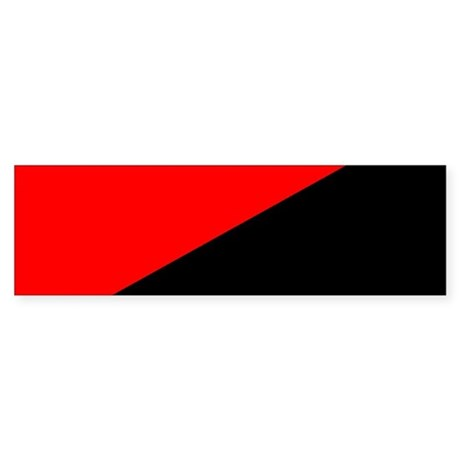 Anarcho-Syndicalist Flag Bumper Sticker