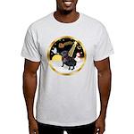 Night Flight/Pug (black) Light T-Shirt