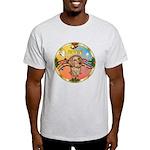 XmasMusic2/Dachshund (WH)#11 Light T-Shirt