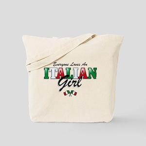 Love Italian Girls Tote Bag