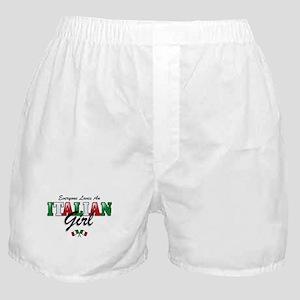 Love Italian Girls Boxer Shorts