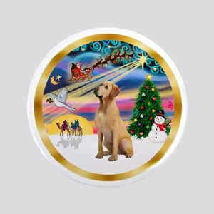 "XmasMagic/Lab (yllow) 3.5"" Button"