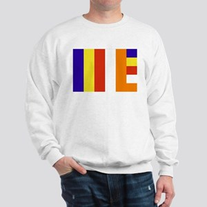 Buddhist Flag Sweatshirt