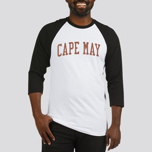 Cape May New Jersey NJ Red Baseball Jersey