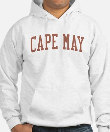 Cape May New Jersey NJ Red Hoodie