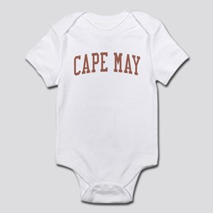 Cape May New Jersey NJ Red Infant Bodysuit